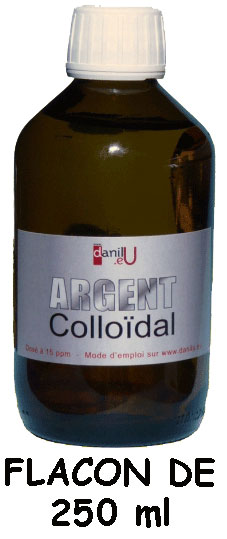 Argent Colloïdal flacon de 250 ml