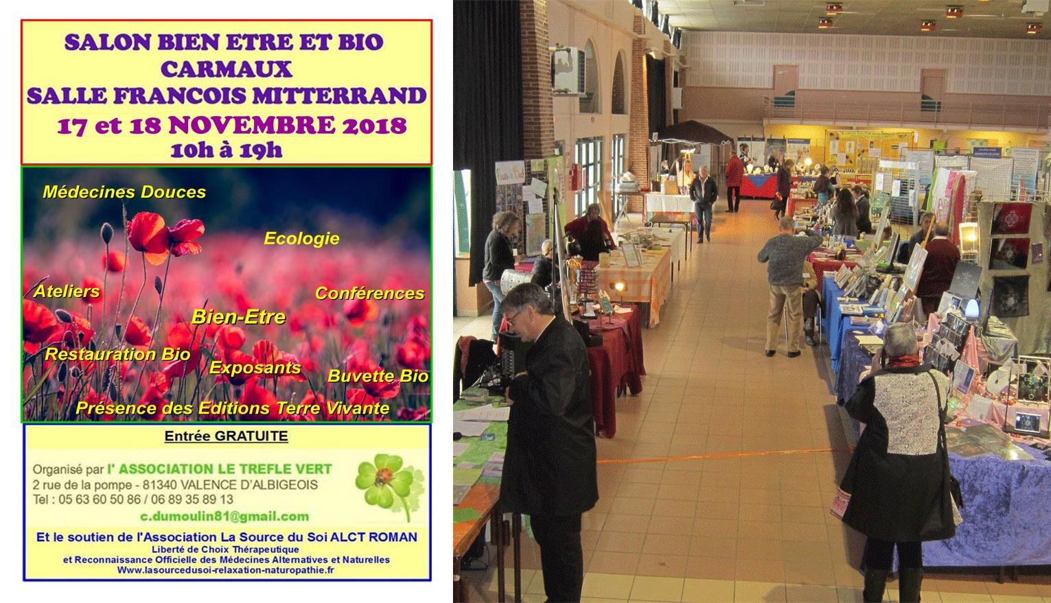 SALON DE CARMAUX 17 et 18 NOVEMBRE 2018