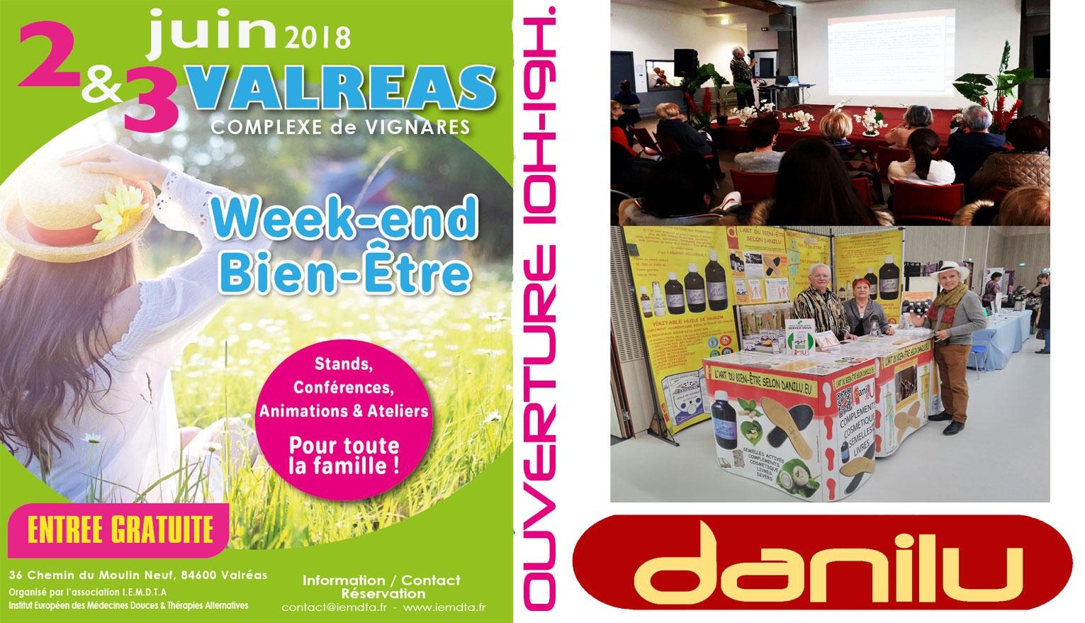 WEEK-END BIEN-ÊTRE à VALREAS 2018